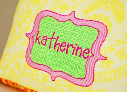 Picture of Boutique Label Applique