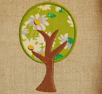 Picture of Basic Tree Applique