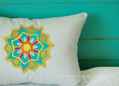 Picture of Mandala Applique