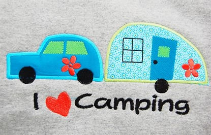 Picture of Camping Trailer Appliques