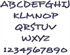 Picture of Desyrel Alphabet