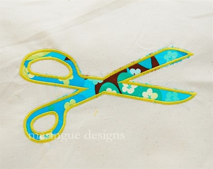 Picture of Scissors Applique