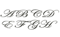Picture of Edwardian Script Monogram