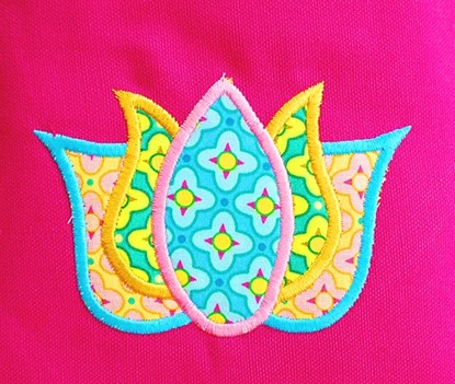 Picture of Lotus Applique