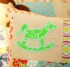 Picture of Rocking Horse Applique & Outline