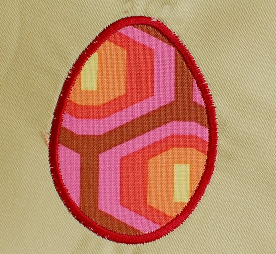 Picture of Easter Egg Applique