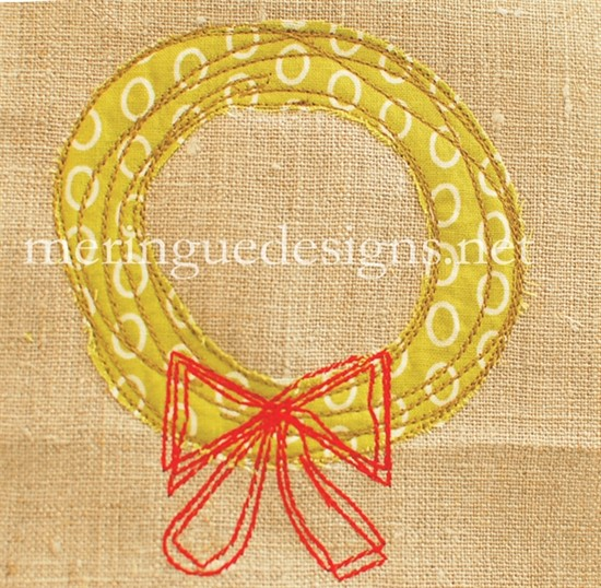 Picture of Scribbled Christmas Wreath