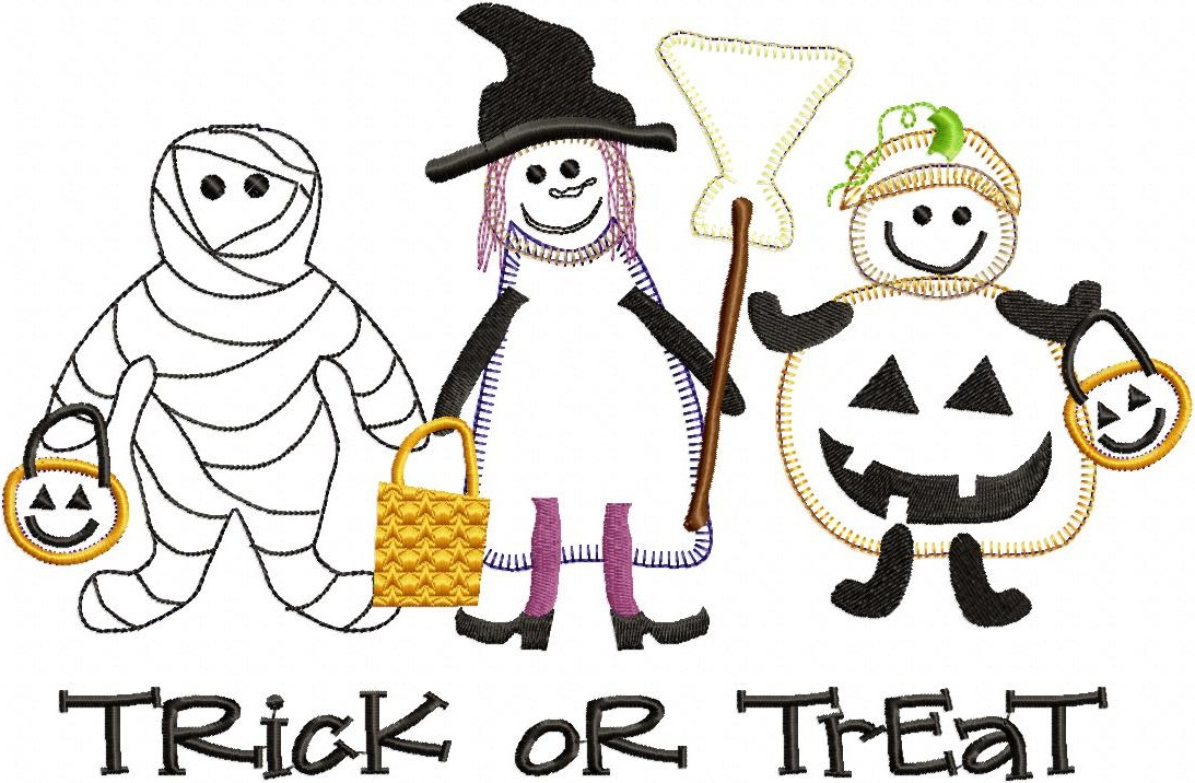Image result for picture of trick or treaters